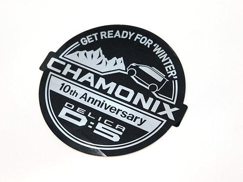 MNFR Part Number: IM089 - Delica Chamonix 10th Anniv Sticker