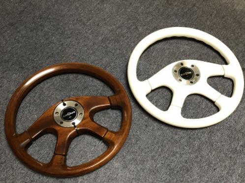 MNFR Part Number: IM080 - Intalvolante White Steering Wheel