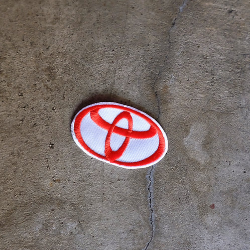 MNFR Part Number: IM061 - Oval Toyota Logo Patch