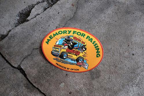 MNFR Part Number: IM005 - Option Grampus Club Sticker