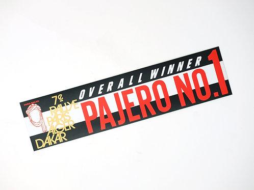 MNFR Part Number: IM084 - Dakar Overall Winner Pajero Sticker