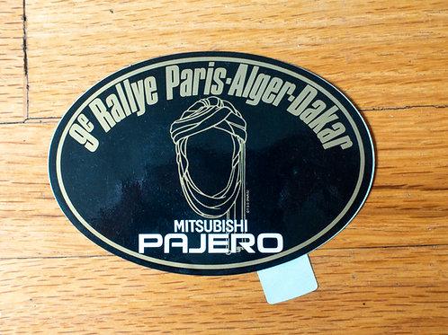 MNFR Part Number: IM072 - Dakar Pajero Sticker