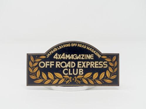 MNFR Part Number: IM075 - 4x4 Magazine Vehicle Badge