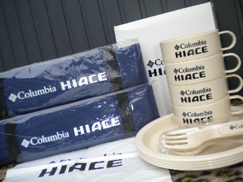 MNFR Part Number: IM076 - Columbia HiAce Camping Goods