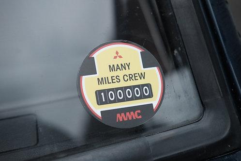 MNFR Part Number: 4X024 - MMC 100k Sticker