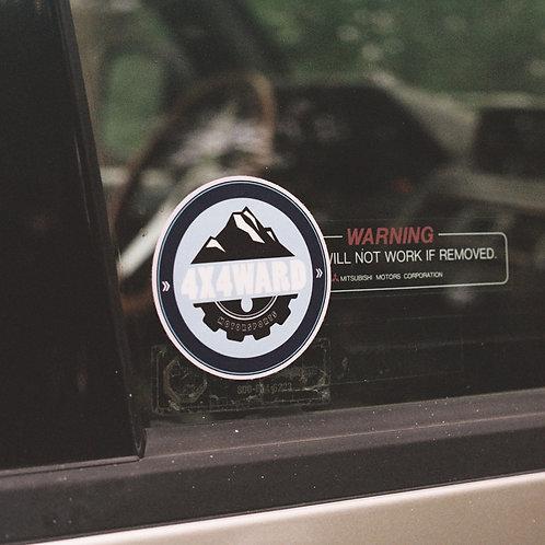 MNFR Part Number: 4X007 - Chamonix Round Sticker