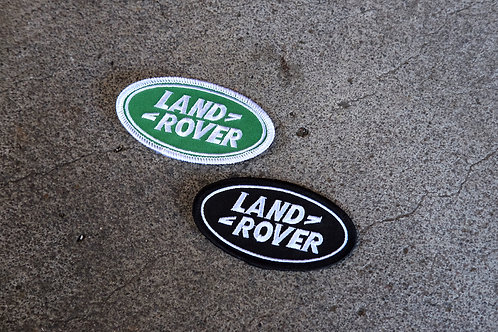 MNFR Part Number: IM039 - Land Rover Patch