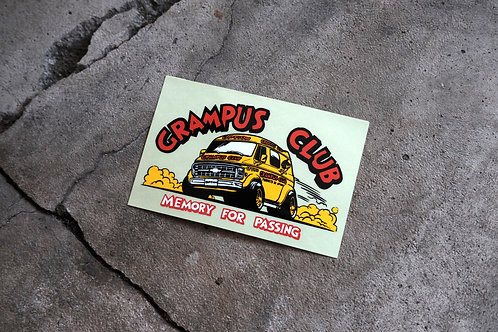 MNFR Part Number: IM006 - Option Grampus Club Sticker