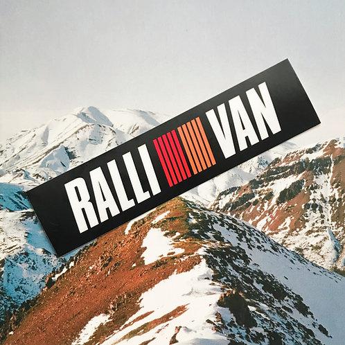 MNFR Part Number: DC009 - Ralli/Van Sticker
