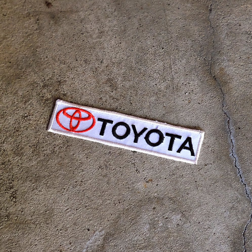 MNFR Part Number: IM065 - Toyota Patch