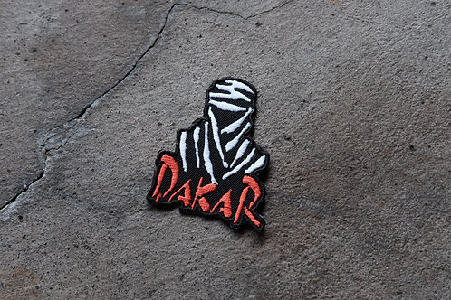 MNFR Part Number: IM022 - Black Dakar Patch