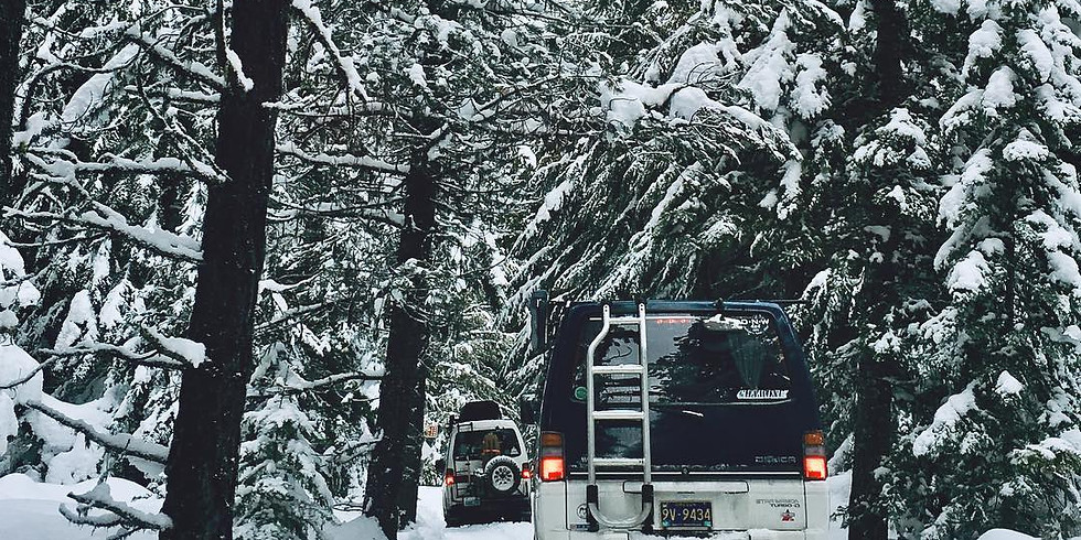 DNW - Mt. Hood Winter Camping