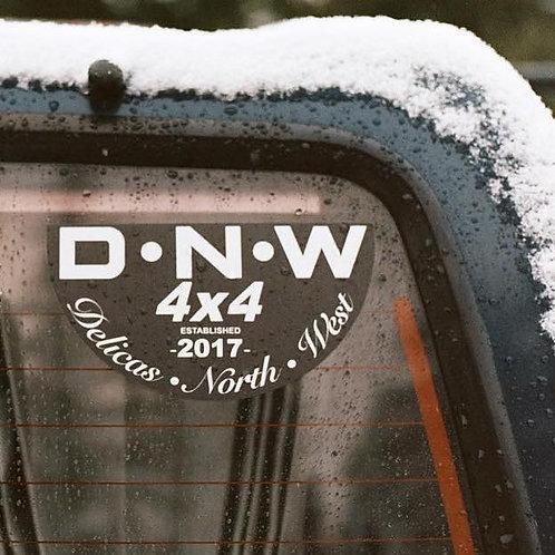 MNFR Part Number: DC002 DNW Family Sticker