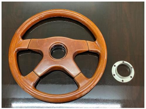 MNFR Part Number: IM081 - Ramona Paris Wood Steering Wheel