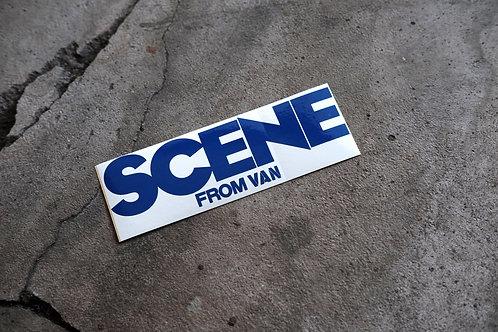 MNFR Part Number: IM004 - Scene from Van sticker