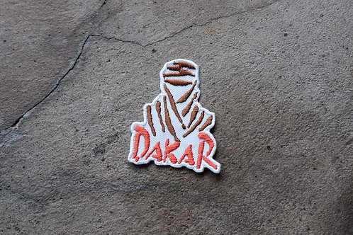 MNFR Part Number: IM021 - White Dakar Patch