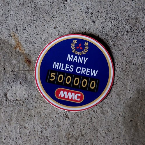 MNFR Part Number: 4X039 - MMC 500k Sticker