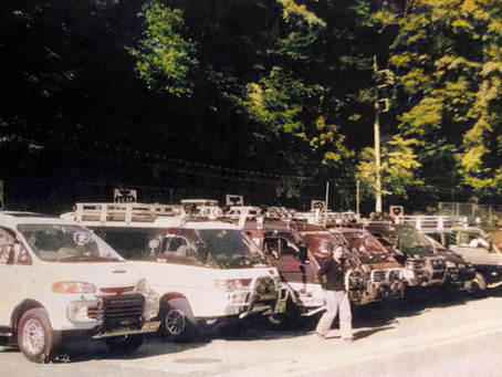 Japan Delica Family Club Report: Autumn apple hunting and the turning of leaves