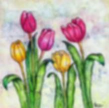 18P-8 Forever In Time Tulips, April 19,