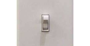 The best light switch ever  (and why your office sink is a mess)