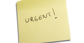 """Urgent is the new """"Simon says"""""""