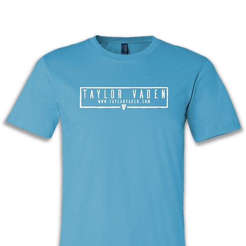 Taylor Vaden Comfy Tee - Turquoise