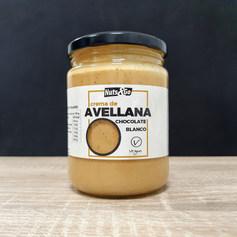 Crema de Avellana Choco Blanco Vegana Nu