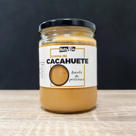 Crema de Cacahuete Nuts&Go