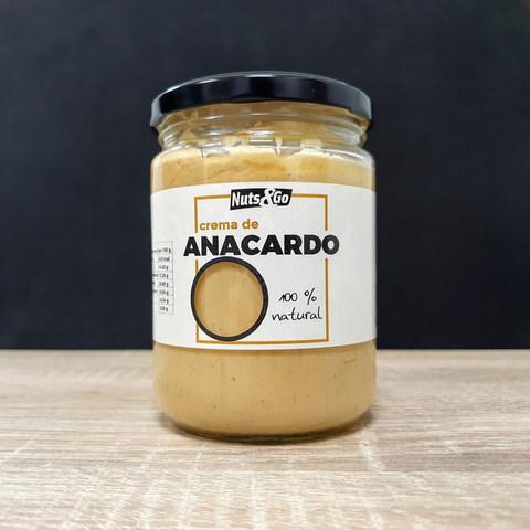 Crema de Anacardo Nuts&Go