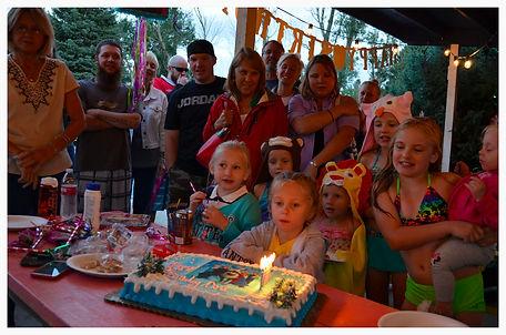 Classic Birthday Pool Parties