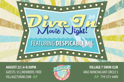 1st Dive In Movie Night!