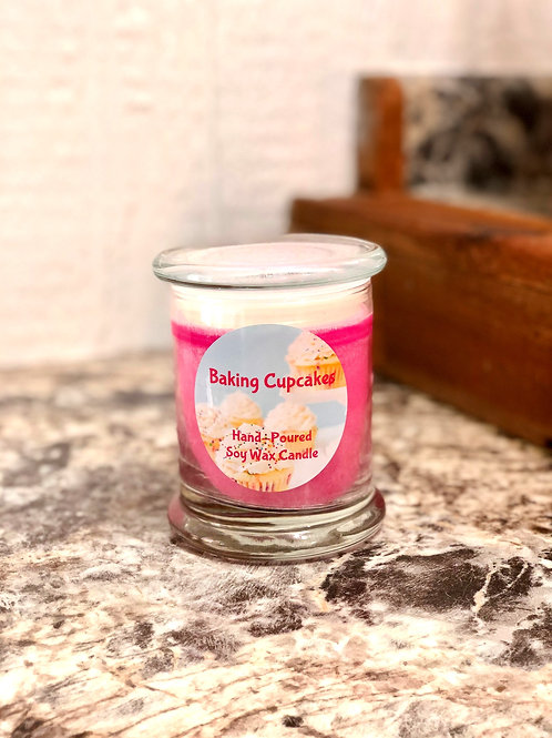Baking Cupcakes Candle