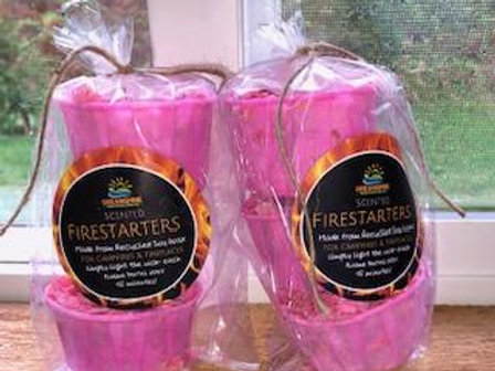 Firestarters: Made from Recycled Soy Wax