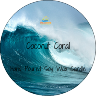 Coconut Coral Wax Melt