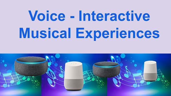 Voice interactive musical experiences.pn