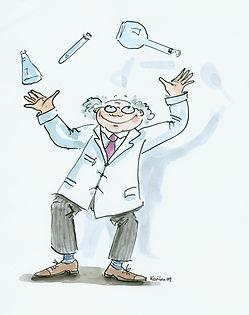 Spielender Wissenschaftler