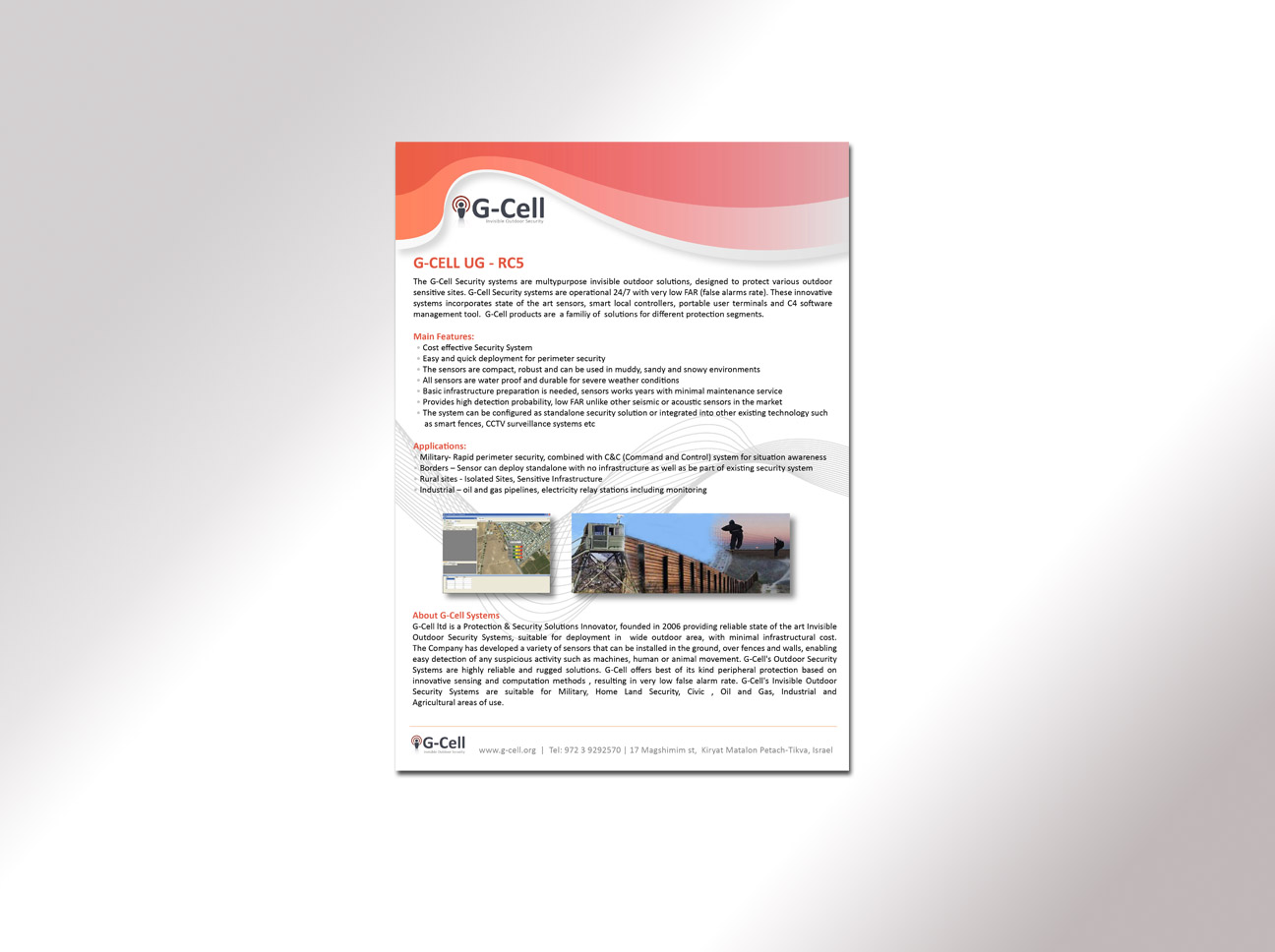 G-Cell flyer