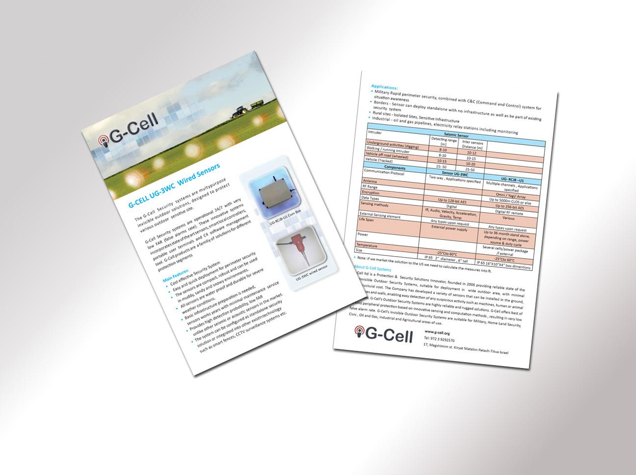 G-Cell brochure