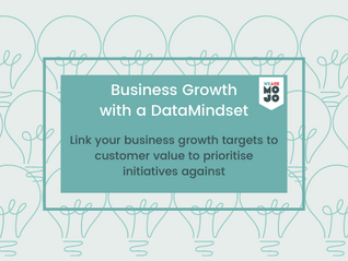 Developing a business strategy with a data mindset