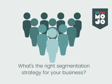 Segmentation can mean many things