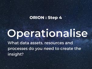Step 4: Operationalise