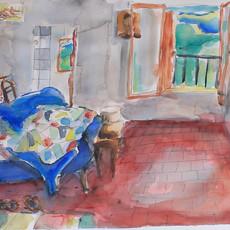 Laura Rachez peinture aquarelle