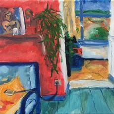 Peinture à l'huile sur toile