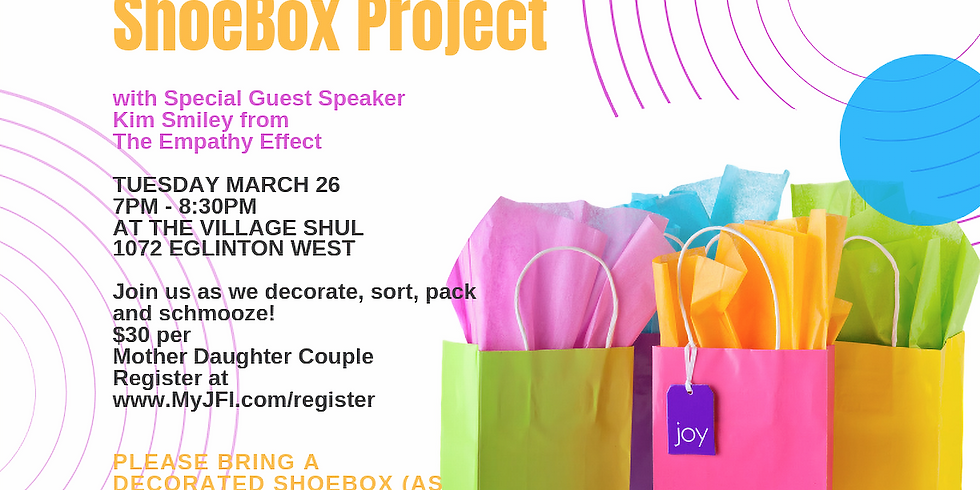 2019 JFI GiveBackNow - Car Care Packs, Shoebox Project and Kim Smiley from The Empathy Effect