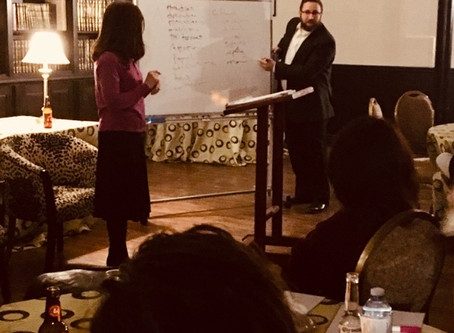 Meaningful Date Night at Shaarei Tefillah with Rabbi Rafi and Shira Feb 2019