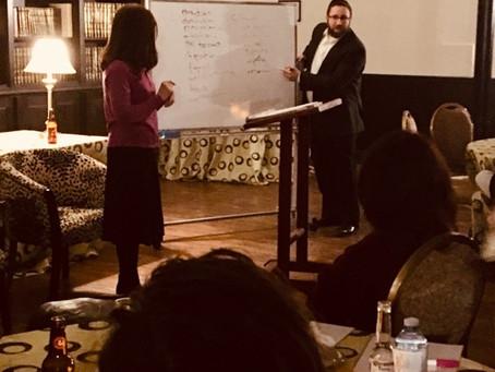 Meaningful Date Night at Shaarei Tefillah with Rabbi Rafi and Shira Feb 2019