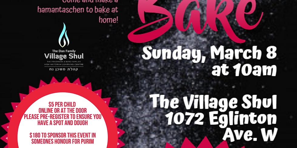 Village Shul and JFI Purim Hamantasch Bake
