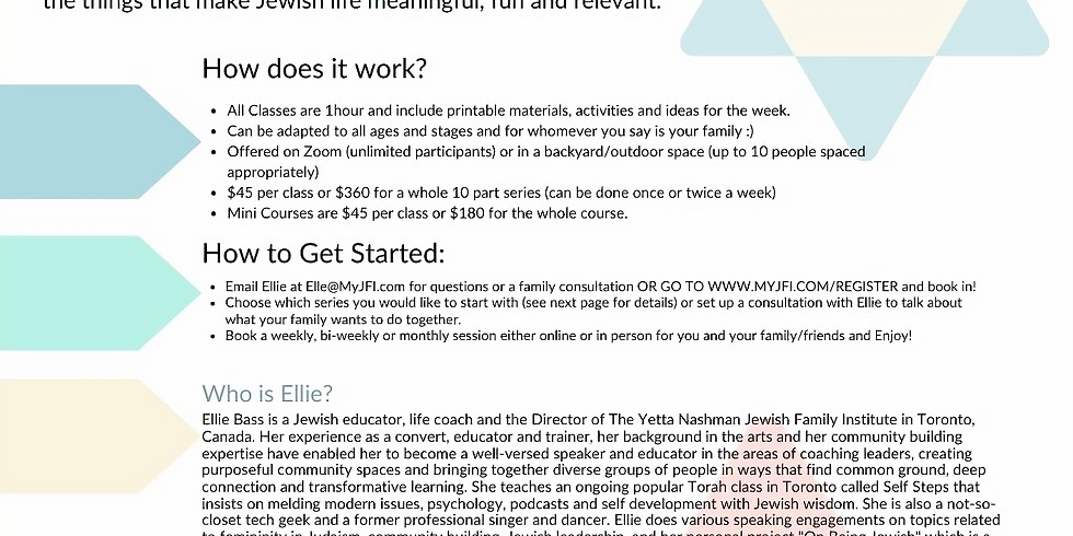 Jewish Family Learning
