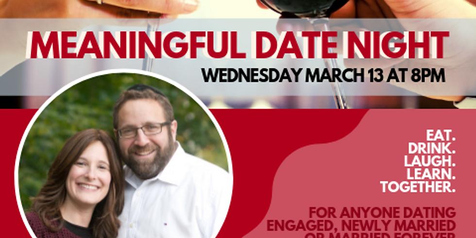 2019 Meaningful Date Night at Shaarei Tefillah