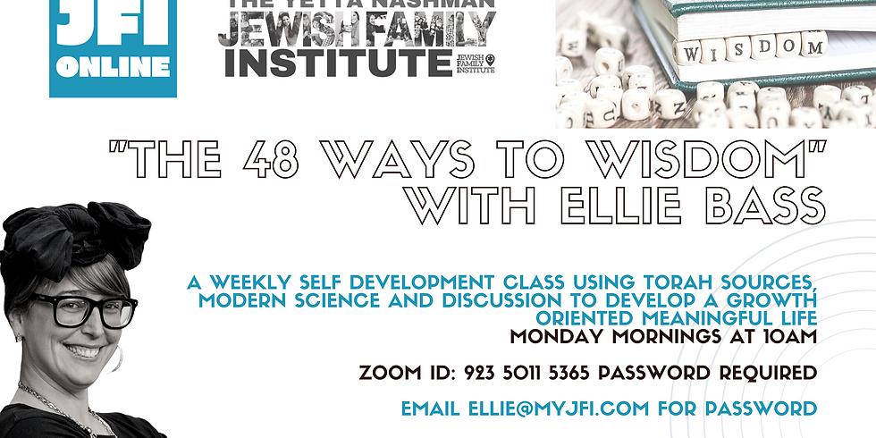 Self Steps with Ellie Bass - 48 Ways to Wisdom